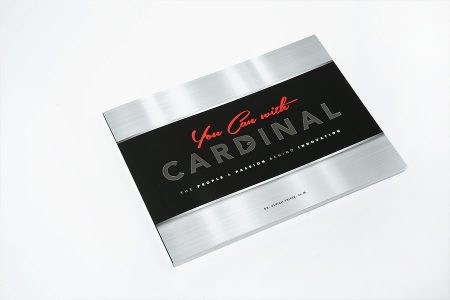 Company history book, corporate anniverary book, legacy book and business anniversary book marking 50 years of Cardinal Meat Specialists