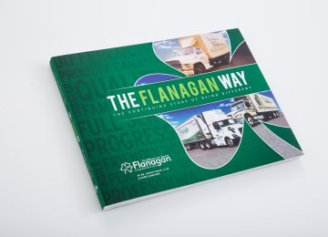 Flanagan Foodservice - Corporate anniversary book published by company history book publisher and business history books publishing house Historical Branding Solutions